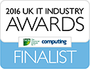 2016 UK IT Industry Awards Finalist