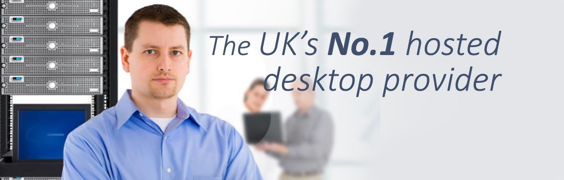 Hosted desktop provider