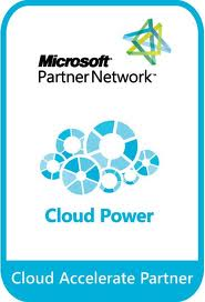 cloud accelerate logo - microsoft certified partner
