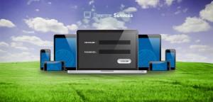 Hosted desktop logon wallpaper