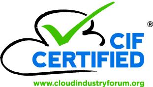 Cloud Industry Forum Certification Logo