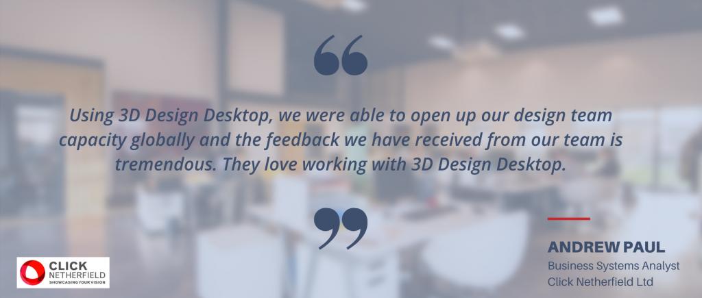 3d Design Desktop Click Netherfield quote