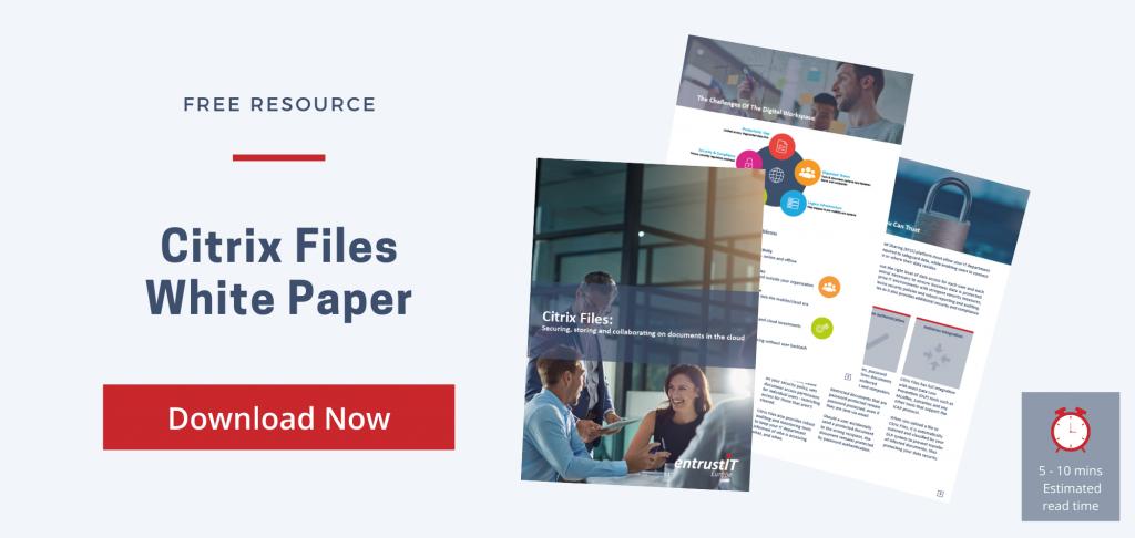 Citrix Files White Paper Download